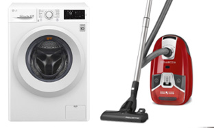 Jeu Carrefour : 5 lave-linge et 10 aspirateurs à gagner