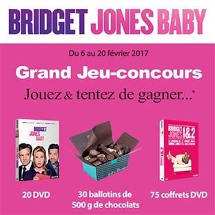 Jeu Jeff de Bruges : 125 lots à gagner avec le film Bridget Jones