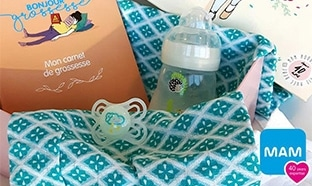 Jeu MAM : 200 box de 5 produits bébé à gagner