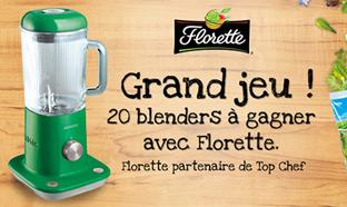 Jeu Top Chef Florette : 20 blenders Kmix de Kenwood à gagner