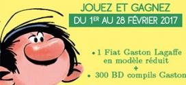Jeu Beneficio Club : Modèle réduit Fiat & 400 BD Gaston Lagaffe