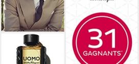 Jeu Nocibé Noci-Quiz : 32 parfums UOMO Salvatore Ferragamo
