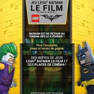 Jeu Picwic : 49 cadeaux Lego Batman à gagner