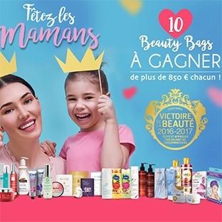 10 Beauty Bags (avec + de 850€ de produits de beauté) à gagner