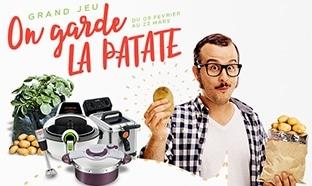 Jeu SEB On garde la Patate : 10 kits pour cuisiner ou cultiver