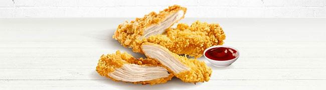 KFC : Obtenez 4 Tenders de poulet offerts
