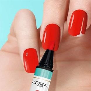 Test L'Oréal : Vernis à ongles Magic Mani Retouch & Go gratuits