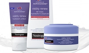 Test Neutrogena : Lait, baume et sérum Visibly Renew gratuits