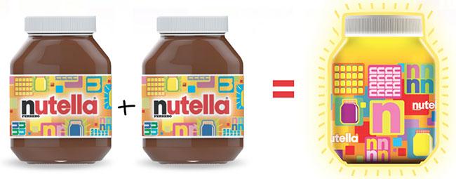 Ma Lampe Nutella offerte pour l'achat de 2 produits participants