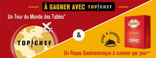 Jeu Top Chef : Un tour du monde des tables