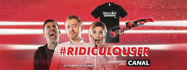 Le jeu MTV & Ridiculous offre des drones et des t-shirts