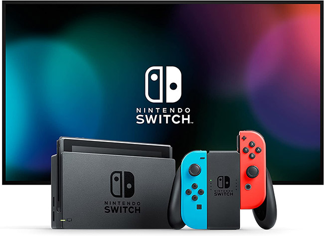 essayez de remporter la nintendo switch