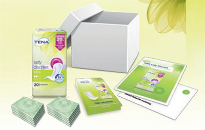 pack Tena Lady Discreet Mini gratuit