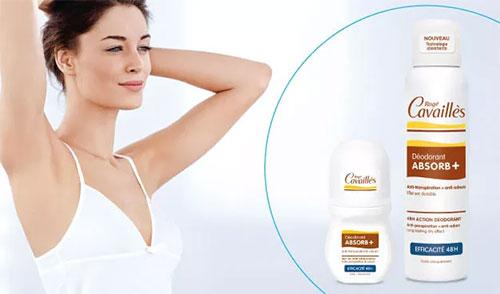 testez le déodorant Absorb+ Efficacité 48H de Rogé Cavaillè