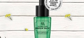 Échantillons du soin Drops Of Youth : Boutiques The Body Shop