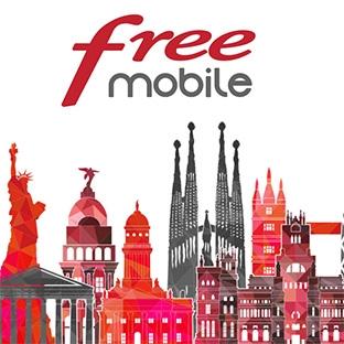 Free Mobile Pass destination : Le forfait illimité dans 35 pays