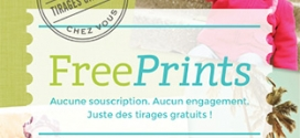 Application FreePrints : 10 tirages photo gratuits (fdp inclus)