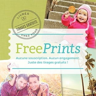 Application FreePrints : 10 tirages photo gratuits (fdp inclus)
