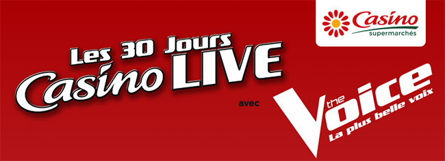 Grand jeu Casino Live The Voice