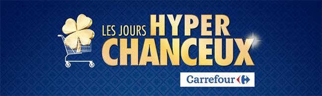 Jusqu'à 20€ à remporter en carte cadeau Carrefour