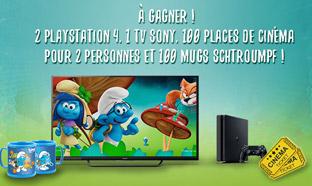 Jeu Schtroumpf des Magasins U : 203 cadeaux (PS4, TV...)