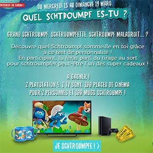 Jeu Schtroumpf des Magasins U : 203 cadeaux (PS4, TV…)