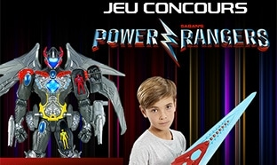 Jeu Toys'R'Us Power Rangers : 15 cadeaux & 400 places de ciné