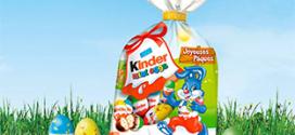 Jeu Chocolats Kinder : 526 lots à gagner pour Pâques 2019