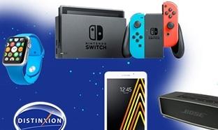 Jeu Distinxion Autos : 67 lots (Nintendo Switch, Apple Watch...)