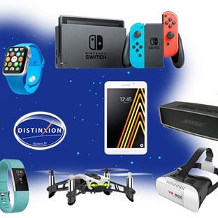 Jeu Distinxion Autos : 67 lots (Nintendo Switch, Apple Watch…)