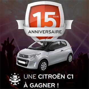 Jeu Euro Repar : 1 voiture Citroën C1 Live à gagner