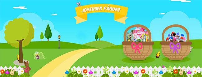 Jeu Lansay Pâques 2017 : 55 lots de jouets à remporter