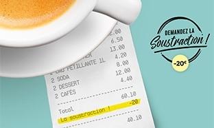 Jeu La vie au Resto : 13'000 bons cadeaux de 20€ à gagner
