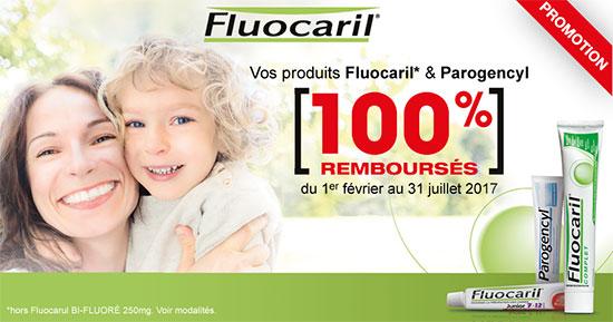 Offre de remboursement Parogencyl et Fluocaril