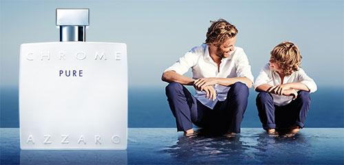 Azzaro offre des doses d'essai du parfum Chrome Pure
