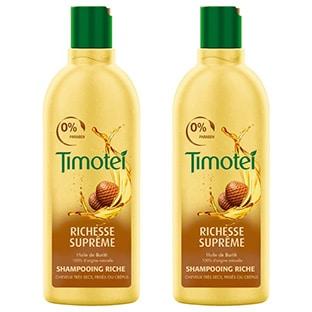 Promo + réduction : Shampooing Timotei presque gratuit (0,05€)