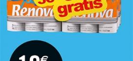 Promo Leclerc : 72 rouleaux de papier WC Renova à 10.69€