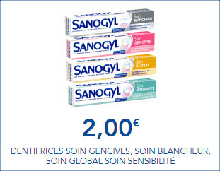 Coupon Sanogyl