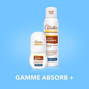 Test Rogé Cavaillès : 200 déodorants Absorb+ Efficacité gratuits