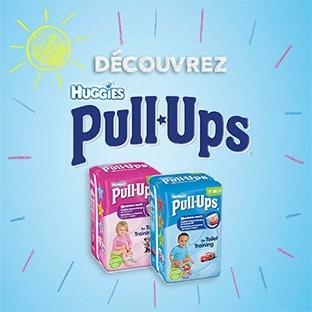 Test Huggies Pull-Ups : 1000 paquets et échantillons gratuits