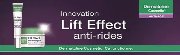 testez  un soin Dermatoline Cosmetic Lift Effect