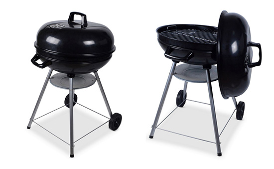 Barbecue rond à charbon à petit prix