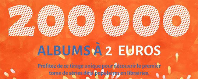 Bon plan Fnac 48h BD : 10 BD à 2 euros