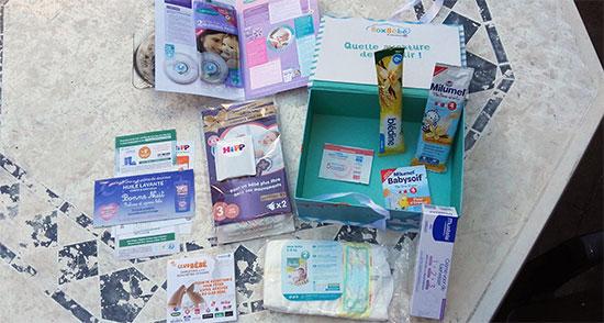 Coffret de naissance Leclerc offert gratuitement pour votre bébé