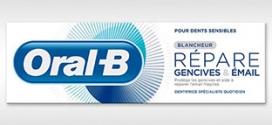 Victoria 50 : Échantillons gratuits de dentifrice Oral-B