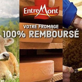 ODR Entremont : Fromage gratuit car 100% remboursé