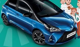 Une voiture Toyota Yaris Hybride à gagner avec Thélem