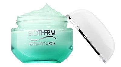 testez gratuitement l'un des 100 gels Aquasource de Biotherm