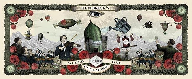 Demandez vos graines de concombres gratuites à Hendrick's