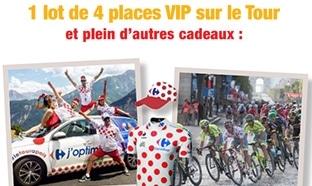 Carrefour : Grand Jeu Tour de France avec 408 cadeaux à gagner